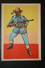 US Cavalry Indian Scout     Historic Uniform Card  VGC