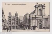 """CPA """" DIJON - Eglise Saint-Michel et Bourse du Commerce"""