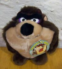 "Vintage 24K Special Wb Looney Tunes Tasmanian Devil Taz 7"" Stuffed Animal New"