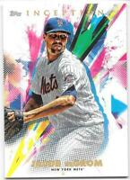 2020 Topps Inception Card #52 Jacob DeGrom New York Mets Base Card