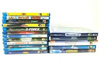 Lot Of 18 Disney &  Pixar &Dreamworks  DVD Blu-Ray Movies Animated Family Kids