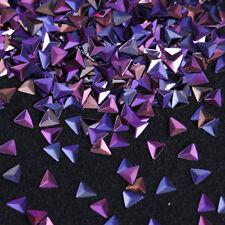 0.7g AB Color Nail Art Sequins Chameleon  Purple Flakies Tips