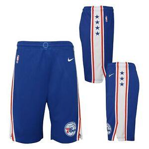 Nike NBA Youth Boys (8-20) Philadelphia 76ers Swingman Icon Shorts