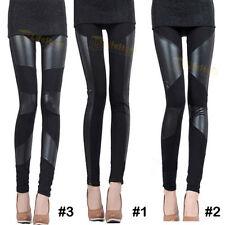 Unbranded Faux Leather Full Length Leggings for Women
