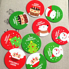 40x Christmas Gift Tags  - Xmas Packaging Candy, Lollies, Bag, Presents