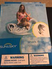 Kids Inflatable Beach Swimming Pool Shark Float Summer Water Fun