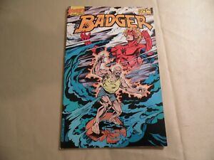 Badger #6 (First 1985) Free Domestic Shipping