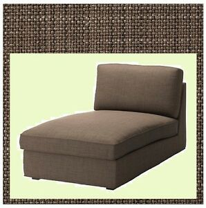 IKEA Kivik Chaise NEW Lounge Sofa Section COVER ONLY(MatesAvail)Isunda Brown