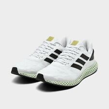 Adidas 4D Run 1.0 Running Shoes White / Black / Metallic Gold Size 9.5 EG6264