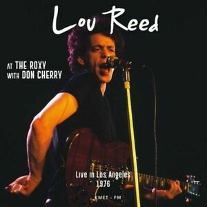 LOU REED / AT THE ROXY WITH DON CHERRY - VINYL 2 LP NEW & SEALED coloured vinyl