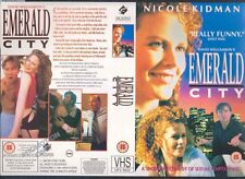 Emerald City, Nicole Kidman VHS Video Promo Sample Sleeve/Cover #9200