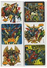 "25 Justice League Stickers, 2.5"" x 2.5"" each, Party Favors"