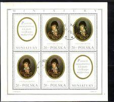 V3940 Polen/ Gemälde Minr 2508 ** Kleinbogen Briefmarken
