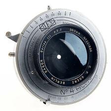 Goerz Dagor 360mm F7.7 III Large Format Lens