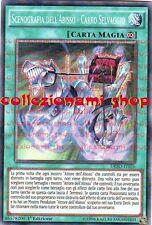 DESO-IT026 SCENOGRAFIA DELL'ABISSO - CARRO SELVAGGIO - SUPER RARA - ITALIANO
