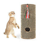 Cat Scratch Board Claw Care Toy Free Catnip Scratching Post Roll Scratcher Stand