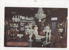 Crystal Room Lightner Museum Of Hobbies St Augustine Fla Postcard Usa 511a
