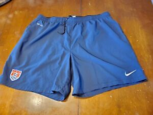 USMNT Nike Official Training  Shorts Worn By Players size 2XL