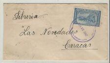 Venezuela: 1947; cover circuled of Barquisimeto city to Caracas...VE1431*