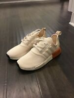 Adidas NMD R1 W Boost Chalk White Copper Shoes Sneakers Women's Size 9 EE5170
