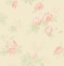Floral Wallpaper Rose Wallpaper Watercolor Wallpaper Vintage Wallpaper Pink Gold