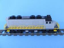 New City Train Engine Built w/ New Lego Bricks fits 9 Volt RC IR Rail Track Sets
