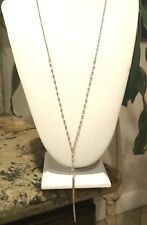 Bead & Pendant Necklace CANVAS JEWELRY Gold Tone