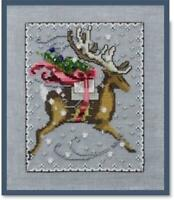 NORA CORBETT for WICHLET IMPORTS - Cross Stitch Chart - CHRISTMAS EVE COURIER