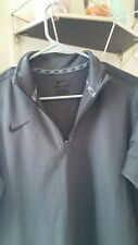 Womens Nike Dri-Fit Half Zip Sweater
