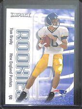 2000 Fleer Skybox Impact Rookie #27 Tom Brady