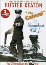 Buster Keaton Double Feature - The General & Steamboat Bill Jr. (Dvd, 2004) New