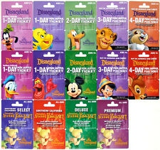 All 14 Different DISNEYLAND Passport Gift Cards 2006: Mickey, Goofy, Donald, etc