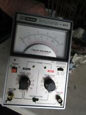 Bk Precision Dual Channel Ac Voltmeter Model 295 Does Power Up