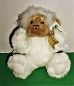 FIRST & MAIN Soft Cuddly Stuffed Plush Snow Angel Jointed Teddy Bear  NEW w/TAGS