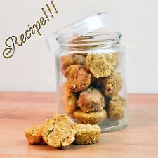 "☆Puppy Treat☆Pumpkin Pie Bites Dog Treat ""RECIPE""☆For Pampered Pets!"