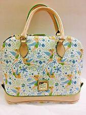 New Disney Dooney & Bourke Tinkerbell  Zip Satchel Bag Without Hangtag
