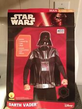 Rubies 887981 Man Darth Vader Mask & Cape Halloween Costume L 36-38 Brand New