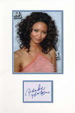 MISSION IMPOSSIBLE-CRASH-SIGNED MATTED DISPLAY by THANDIE NEWTON-AFTAL/UACC RD