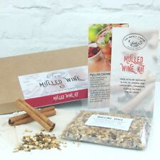 Mulled Wine Kit For Cider, Wine and Cocktails. Gift Boxed. Includes recipes.