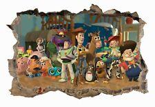 Toy Story,Kids,Sticker,Decal,3D,Bedroom,Wall Art,Mural