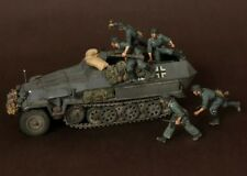 1:35 pista de media alemán tripulación Guerra Mundial 2 (Segunda Guerra Mundial) 5 Figuras Modelos De Resina