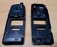Neu: Original Siemens S25 Cover Gehäuse Rückschale Backcover in schwarz / grau