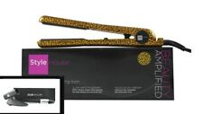 "New Style House 1.25"" Professional Hair Iron Straightener Leopard & Accessories"