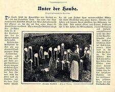 T. Dockhorn Unter der Haube europäische Hauben- Tracht Text-& Bilddokumente 1905