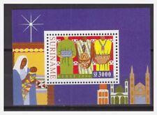 Surinam / Suriname 2000 Kerstmis christmas weihnachten noel S/S MNH
