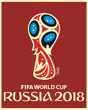 2018 RUSSIA FIFA World Cup Poster - 8x10 Photo