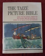 The Taize Picture Bible 1973 Book Scriptures Eric de Saussure Illustrated