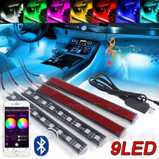 Rgb Led Strip for Home Deco, Car Interior, Cabinets, Boat Atmosphere Neon Light(Fits: More than one vehicle)
