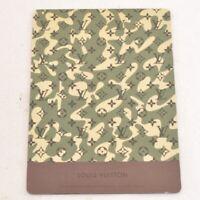 LOUIS VUITTON Murakami Monogram Ouflage Mouse Pad LV Auth m049