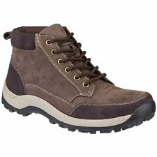 Cotswold Slad Brown Mens Boots Nubuck Leather